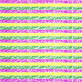 Mardi Gras pastel crayon striped background Royalty Free Stock Photos