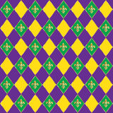 Mardi Gras pattern Stock Photo