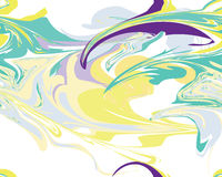 Mardi Gras seamless line marble pattern, Vector illustration Royalty Free Stock Image