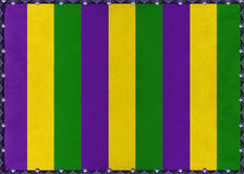 Mardi Gras Striped Background Royalty Free Stock Image