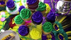 Mardi Gras stock video footage
