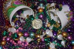 Mardi Gras Treasures Stock Photography