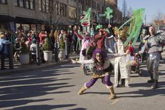 Mardi Gras Uproar Royalty Free Stock Images