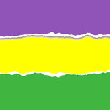 Mardi Gras. Vector Mardi Gras background tear paper