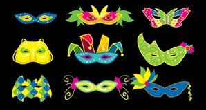 Mardi Gras Vector Illustration. Royalty Free Stock Image
