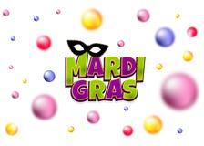 Mardi Gras vislumbra o contexto da pérola Imagem de Stock Royalty Free