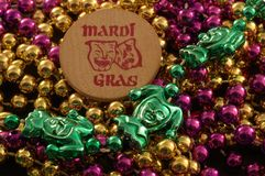 Mardi Gras werpt Royalty-vrije Stock Foto's