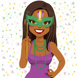 Mardi Gras Woman Royalty Free Stock Images
