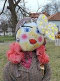Mardi Gras woman mask Royalty Free Stock Photos