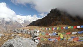 Базовый лагерь Mardi Himal сток-видео