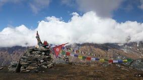 Mardi Himal Base Camp stock video