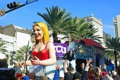 mardi New Orleans för 2010 gras Royaltyfri Fotografi