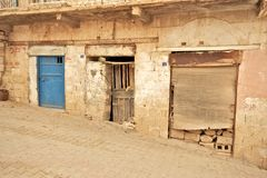 Mardin老镇石大厦在土耳其。 免版税库存照片