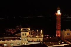 Mardin bij nacht Royalty-vrije Stock Afbeelding
