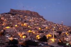 Mardin City at Night Royalty Free Stock Image
