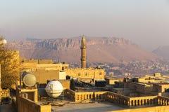 Mardin historisk stad i Turkiet fotografering för bildbyråer