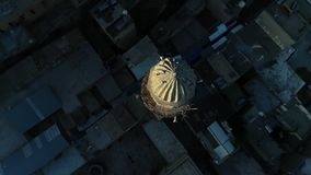Mardin Minaret Top View Stock Photo