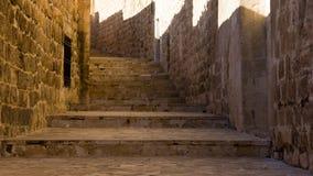 Mardin Old City Streets Royalty Free Stock Photos