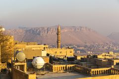 Mardin Historical City in Turkey stock image