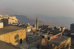 Mardin Turkiet royaltyfri fotografi