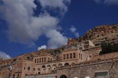 Mardinstad, zuidoostengebied van Turkije mesopotamië royalty-vrije stock fotografie