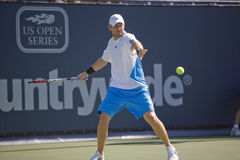 Mardy Fish at the Los Angeles Tennis Open Stock Photography