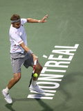 Mardy Fish at Rogers Cup, Montreal, ATP Masters Royalty Free Stock Images