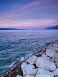 Mare adriatico Immagine Stock
