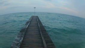 Mare adriatico dell'Italia video d archivio