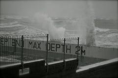 Mare agitato Immagine Stock