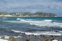 Mare al BLANCA della Costa Fotografie Stock