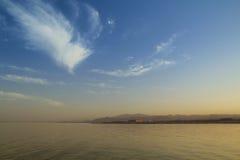 Mare al tramonto Fotografia Stock