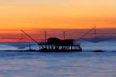 Mare antico della peschiera Immagine Stock