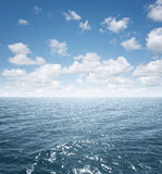 Mare aperto Fotografie Stock