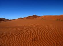 Mare arancione, Namibia Fotografie Stock Libere da Diritti