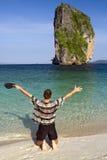 Mare benvenuto di Andaman immagini stock libere da diritti