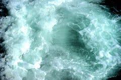 Mare bianco scuro di Dengerous, debth dell'acqua immagine stock