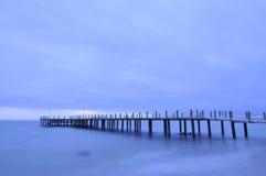 Mare blu Fotografia Stock