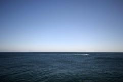 Mare blu profondo Fotografia Stock Libera da Diritti