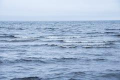 Mare blu profondo Immagine Stock Libera da Diritti