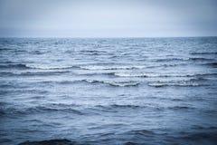 Mare blu profondo Fotografie Stock