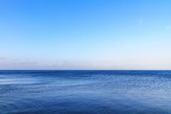 Mare Blu. Shot of the deep blue sea at Bagheria near Palermo, Sicily Royalty Free Stock Photography