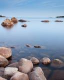 Mare calmo Fotografie Stock