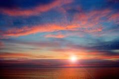Mare Calo-HDR-Nero Fotografia Stock Libera da Diritti