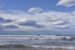 Mare Cantabrian immagini stock