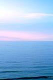 Mare con il cielo Immagine Stock