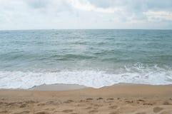 Mare con la sabbia Fotografie Stock