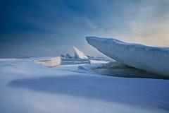Mare congelato Immagine Stock Libera da Diritti