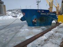 Mare congelato Fotografia Stock