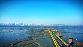 mare in Corea fotografie stock libere da diritti